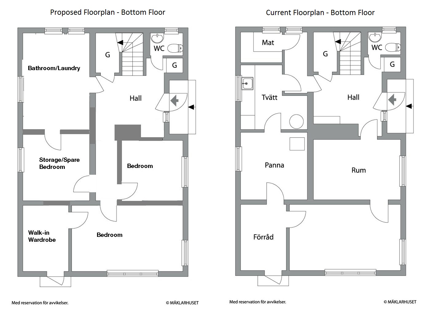 Floorplan our renovation blog Ground floor house plan
