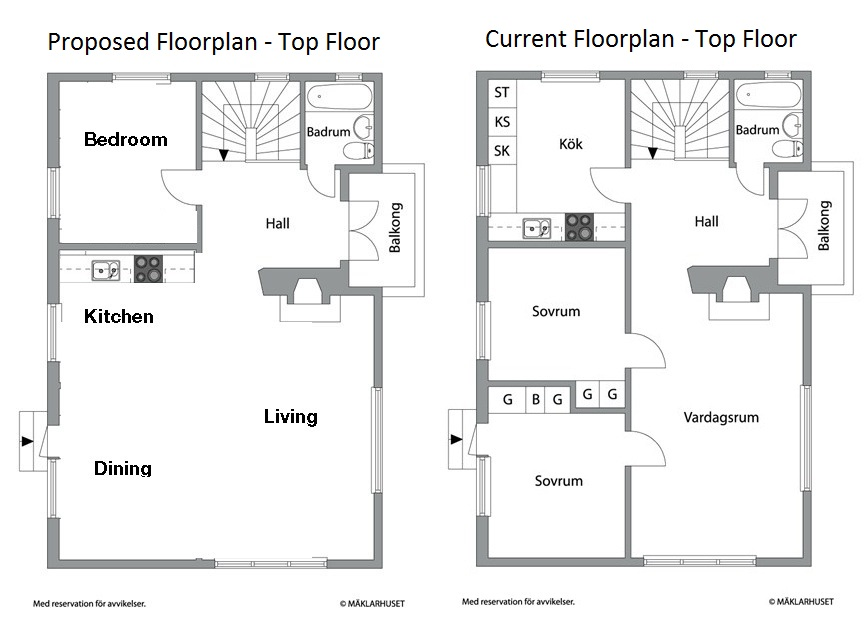 Floorplan our renovation blog for Upstairs floor plans
