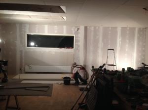 Remodel new plaster