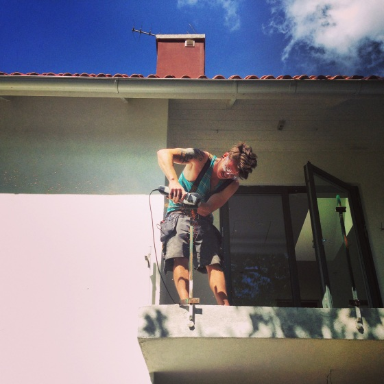 tiling balcony